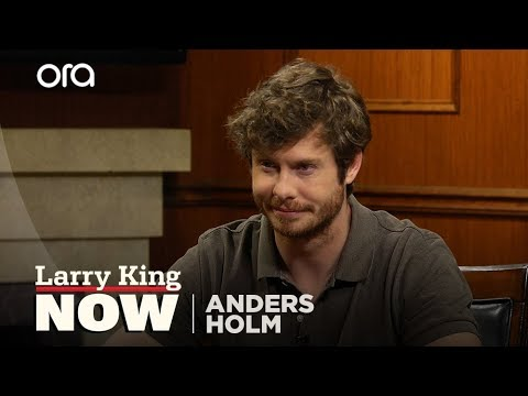 Anders Holm explains what the eggplant emoji means to Larry King