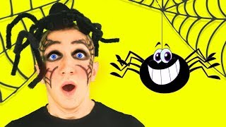 Itsy Bitsy Spider Song for Kids. Sing Along With Tiki.