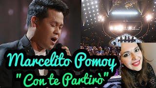 """Marcelito Pomoy - """"Con te Partiro"""" American"""