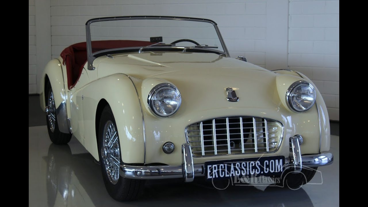 Triumph TR3 Small Mouth 1957 Body Off Restored As NEW