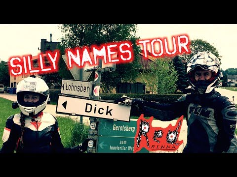 The Silly Names Tour of Southern Germany and Austria