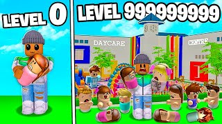 I BUILT A LEVEL 999,999,999 ROBLOX DAYCARE