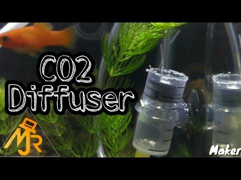 DIY CO2 diffuser with drip bag / IV bag