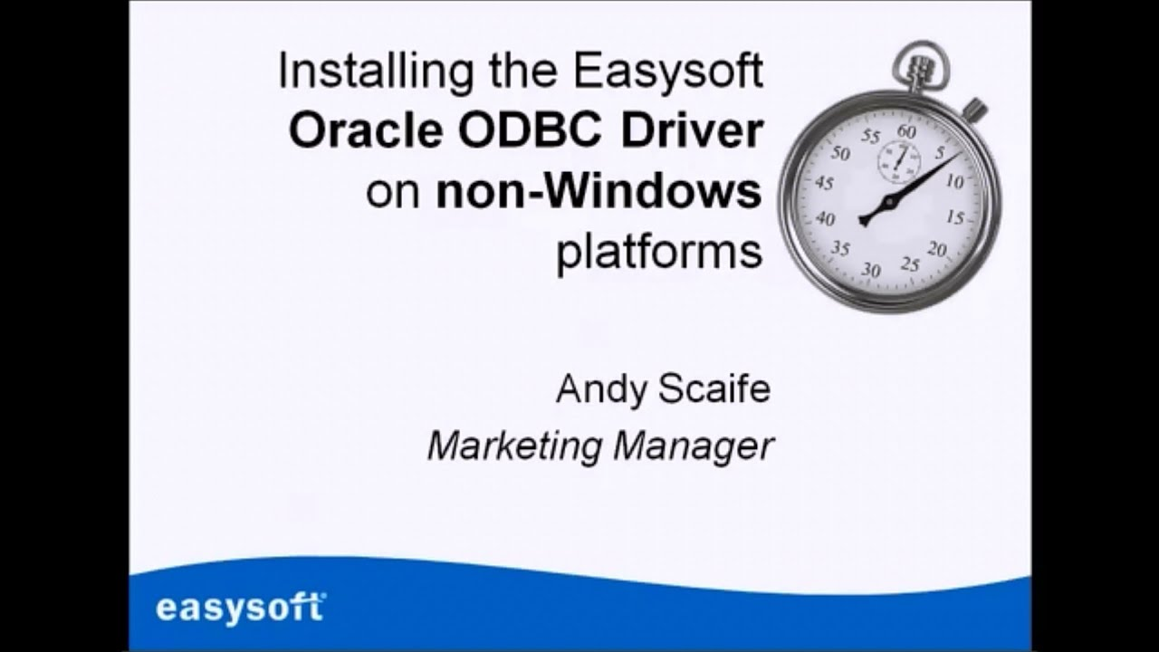 oracle 11g odbc driver windows 10