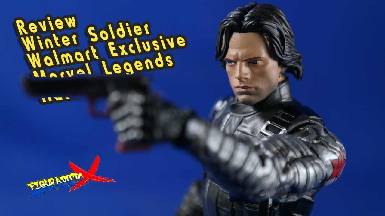 MARVEL LEGENDS Winter Soldier Bucky America WALMART EXCLUSIVE Avengers Figure