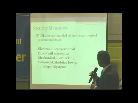 NYCHA Chairman John B Rhea Discusses Safety and Security at Manhattan Town Hall
