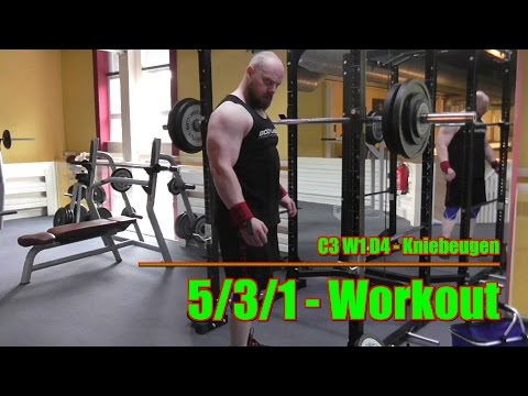 NO EASY WAY presents: 5/3/1 - Squats (c3,w1,d4)