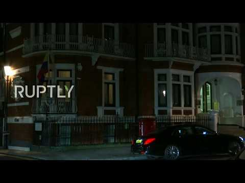 LIVE: Ecuador reportedly grants ID card to Assange - live from embassy in London