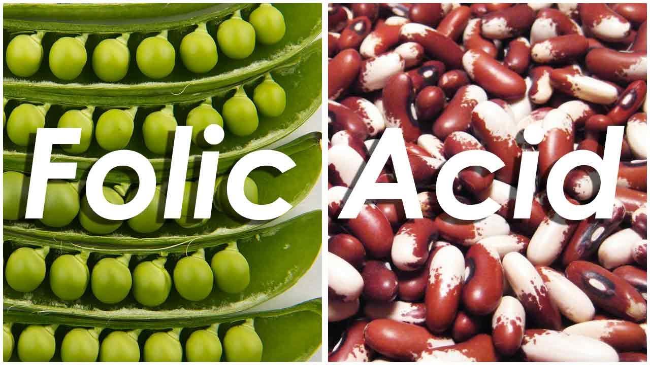 What foods contain folic acid list 70