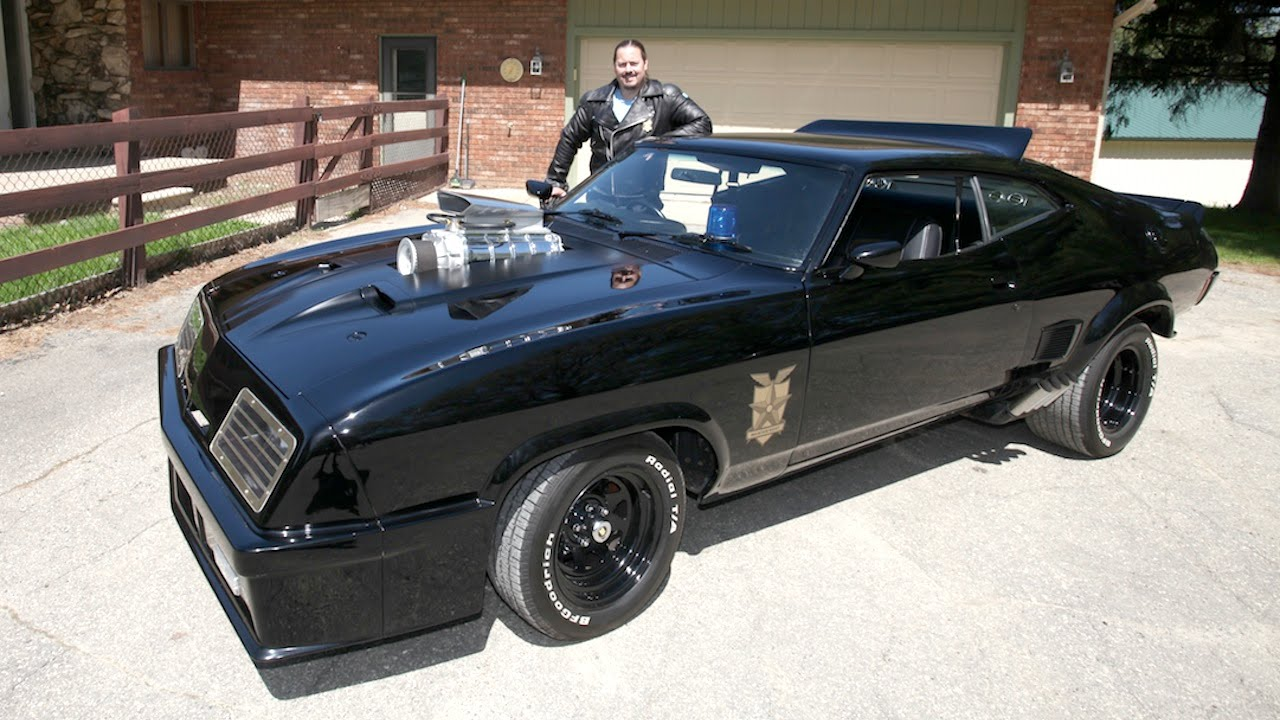 Mad Max Fan Recreates Original Interceptor Car Youtube