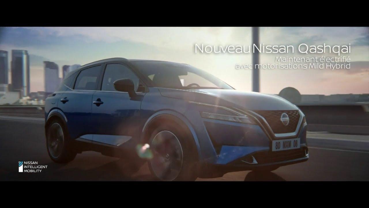 """Musique pub Nouveau Nissan Qaishqai """"maintenant électrifié avec motorisation Mild hybrid""""  juillet 2021"""