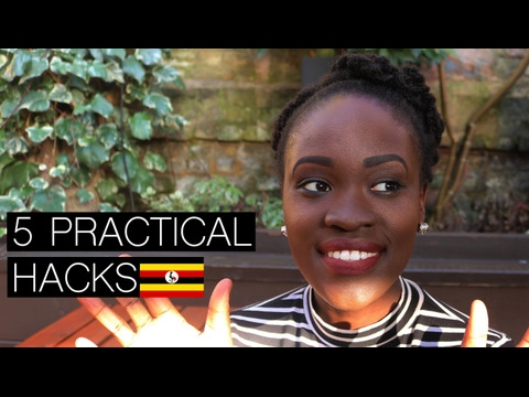 SURVIVING IN UGANDA HACKS // 5 PRACTICAL TIPS | PART 1