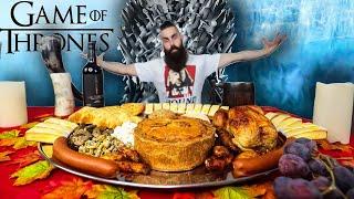 THE ULTIMATE GAME OF THRONES BANQUET CHALLENGE | 13,000 CALORIES | BeardMeatsFood