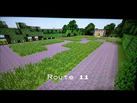 Kanto Region Xbox 360 Minecraft Sneak Peak