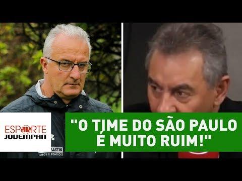 """""""O time do São Paulo é MUITO ruim!"""", detona Flavio Prado"""