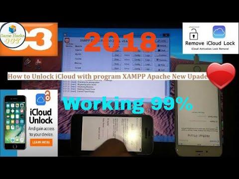 How to Unlock iCloud iPhone and iPad use  program XAMPP 2017