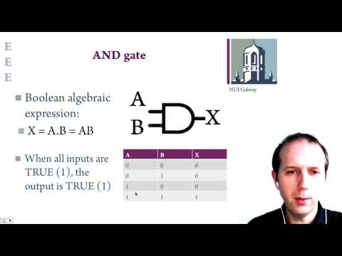 Lecture 8: Chips, logic gates