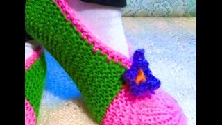 Самый простой и легкий способ вязание следков спицами