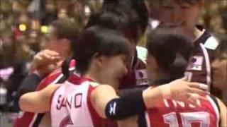 木村沙織2010 ファインプレー集 saori kimura's fine plays 木村沙織 検索動画 5