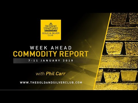 WEEK AHEAD COMMODITY REPORT: Gold, Silver & Oil Price Forecast: 7-11, January 2019