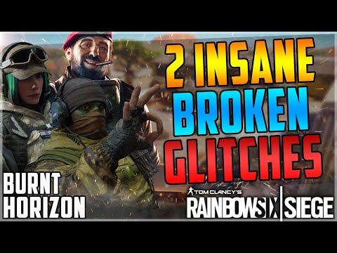 (OP) 2 INSANE GLITCHES - AMAZING 100% INVINCIBLE GLITCH + EASY TELEPORT GLITCH - BURNT HORIZON (R6S)