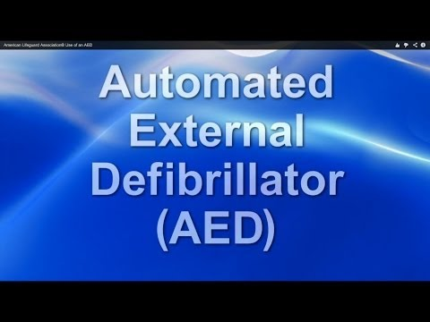 AED Training by American Lifeguard Association®