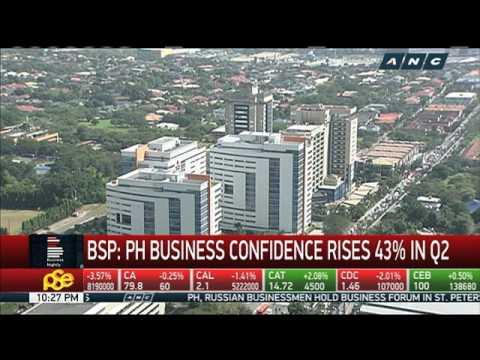BSP: PH business confidence improves in Q2