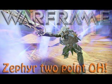 Warframe - Zephyr two point OH! (zephyr rework) thumbnail