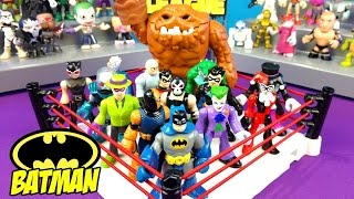 Batman Toys Shake Rumble Game with Justice League COMPILATION KIDCITY
