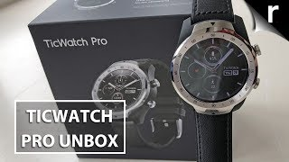 TicWatch Pro Unboxing | Premium smartwatch for £220!