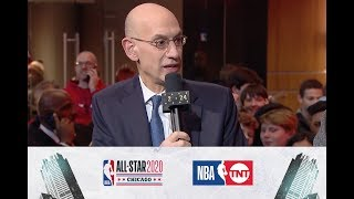 Adam Silver Discusses All-Star, Kobe and David Stern | All-Star 2020