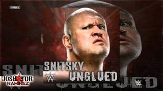 WWE: Unglued (Snitsky) by Jim Johnston - DL with Custom Cover