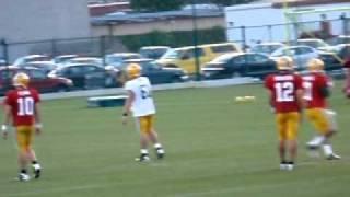 Packers QB Target Practice