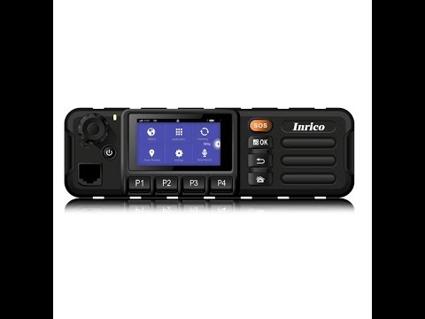 Inrico TM-7 3G/WiFi Mobile Network Radio