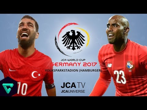 Turkey vs. Panama | Group A | 2017 JCA World Cup Germany | PES 2017
