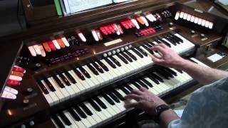 "Baldwin PR200 Organ Bob Jennings plays "" Fool"""