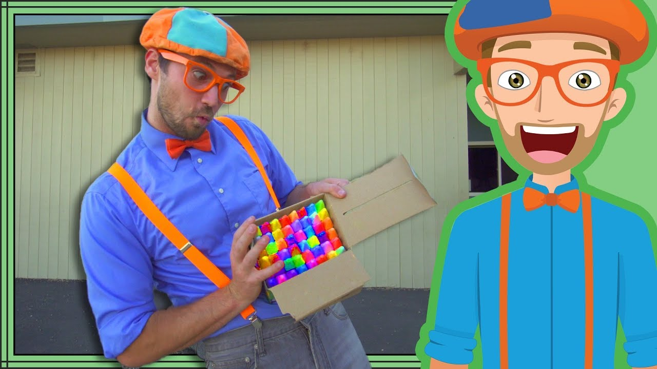 Blippi Educational Videos For Kids Machines And More Compilation Youtube