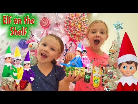 Elf on the Shelf! Our Elves Control Our Day 24 Hour Elf Challenge!