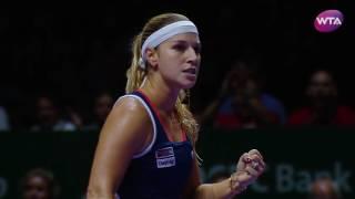 my performance   dominika cibulkova defeats svetlana kuznetsova   2016 wta finals semifinals