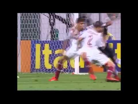 Ronaldinho 2 goals Free kick   Atletico Mineiro vs Fluminense   2013 Golazos!