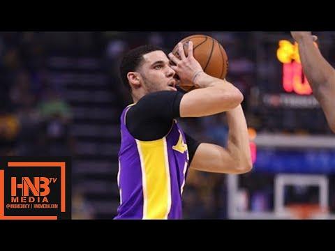 Los Angeles Lakers vs Memphis Grizzlies Full Game Highlights / March 24 / 2017-18 NBA Season