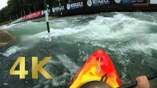 Eiskanal Kajak - Olympiastrecke Komplett - 2017