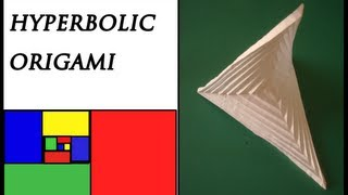 How to make an Origami Hyperbolic Paraboloid
