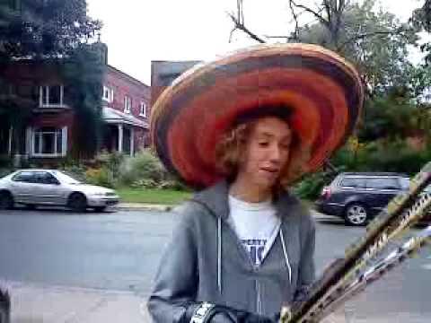 Gran sombrero. Big hat