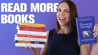 7 Ways to Read More Books (Self Growth & Personal Development)