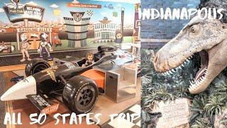 САМЫЙ БОЛЬШОЙ ДЕТСКИЙ МУЗЕЙ В МИРЕ и трэк NASCAR. День 73, Индиана || ALL 50 STATES TRIP