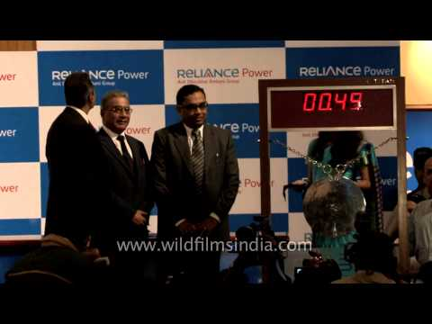Reliance Power debuts in Indian Stock Markets - Mumbai