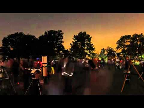 Morehead Planetarium Skywatching Session (2012 September 22)