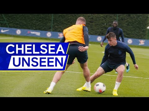 Hudson-Odoi back in training💪 Barkley megs Mount👀 | Chelsea Unseen