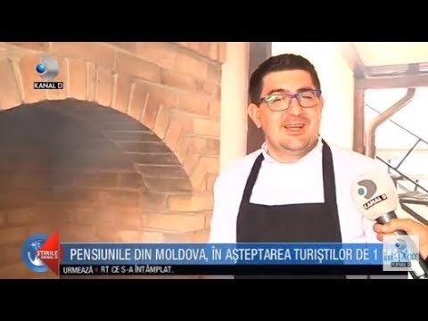 Stirile Kanal D(20.04.)-Pensiunile din Moldova, in asteptarea turistilor de 1 mai! Editie COMPLETA